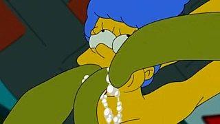 Simpsonowie porno Marge Simpson + S.
