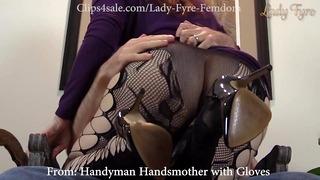French Housekeeper Executrix Sampler Part1 Af Female Fyre